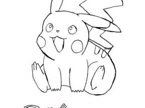 pichu coloring sheets pages gekimoe 101046