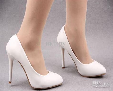 Vera Kitten Heels In White white shoes with heels heels zone