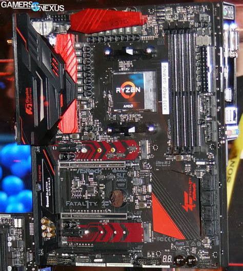 Asrock Fatal1ty X370 Gaming X Am4 Amd Promontory X370 Ddr4 Usb3 0 asrock biostar am4 motherboard specs new amd s3 0