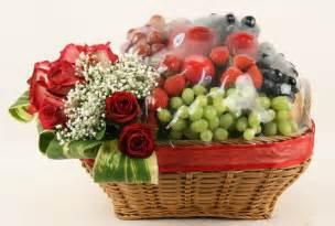 gambar buah buahan dalam keranjang daunbuah