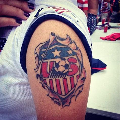small soccer tattoos usa soccer this one would put it on the