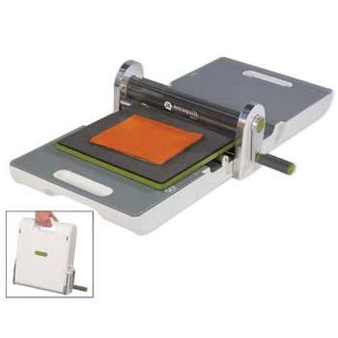 Quilting Fabric Cutter Machine by Accuquilt Go Fabric Cutter W Free Die 55100 3