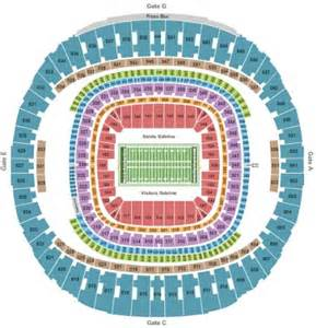 Mercedes Superdome Football Seating Chart Mercedes Superdome Tickets And Mercedes