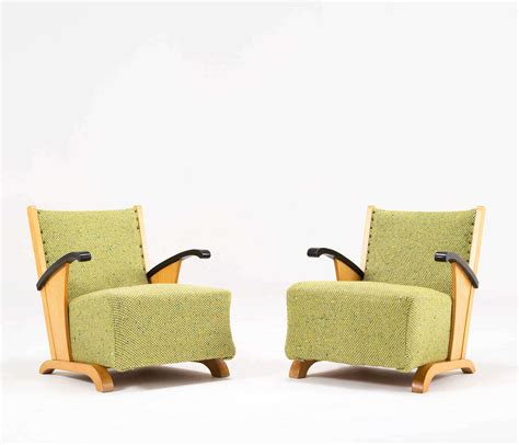 modern art deco furniture set of 2 modern art deco club chairs at 1stdibs