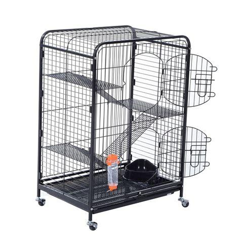 living room cage living room series 4 level ferret cage chinchilla guinea pig rat indoor hutch ebay
