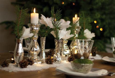 dekoidee ein glitzernder winterwald als weihnachtliche