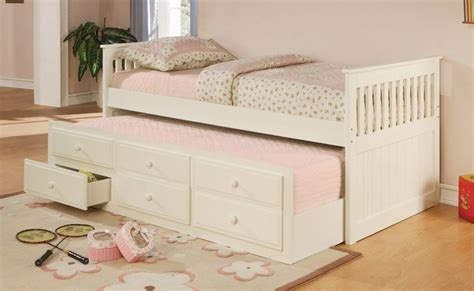 slide out bed bed with slide out trundle underneath whyrll com