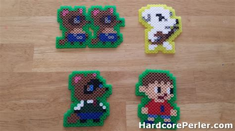 perler bead maker 1000 images about perler animal crossing on