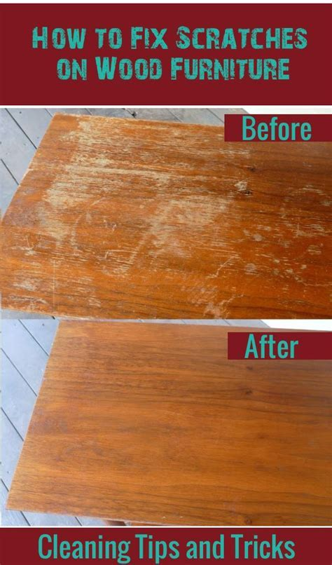 How to fix scratches on wood furniture   Furniture