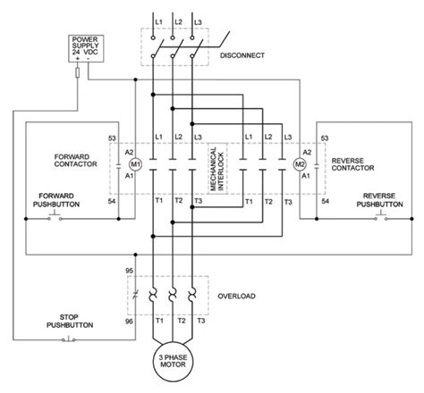 three phase contactor wiring diagram wiring diagram and