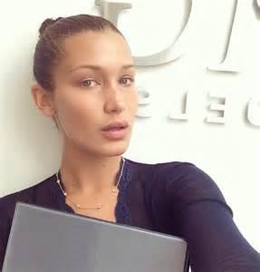Img models signs bella hadid daily front row