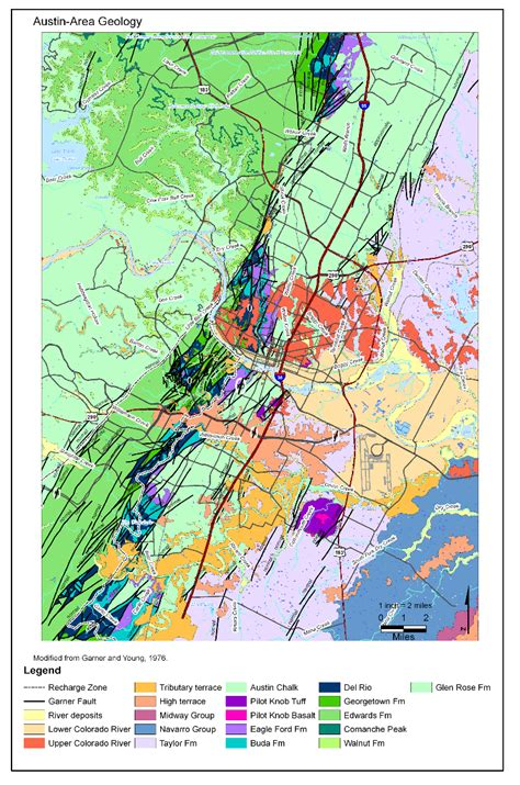 geologic map of texas geologic map of