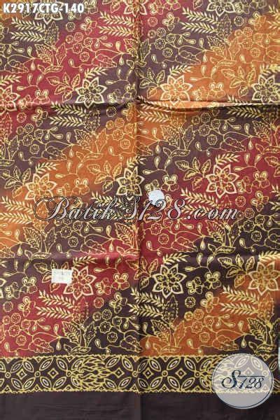Batik Tulis Kombinasi Batik Cap kain batik cap tulis dengan kombinasi motif dan warna
