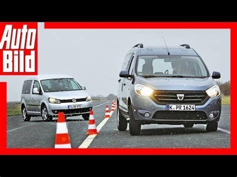 Autobild Yt by Vw Caddy Vs Dacia Dokker Billiger Aber Genauso Gut