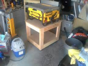 diy wood design table saw workbench plans