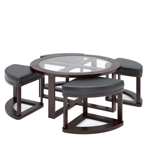 coffee table with stools walmart corliving lbg 599 k belgrove espresso stained coffee