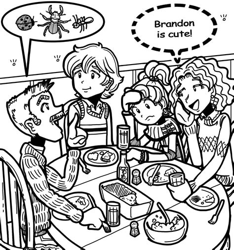 dork diaries printable coloring pages coloring home