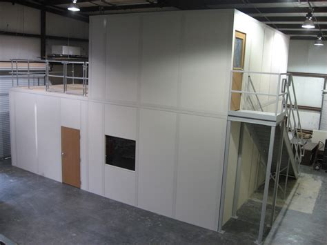 Ssi Office by Modular Bldg Mezzanines Storage Solutions Incstorage