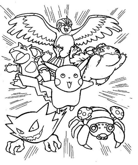 pokemon indigo coloring pages pokemon coloring pages pikachu and friends murderthestout