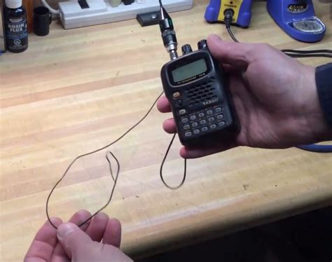 improve  ht ham radio  adding  counterpoise antenna