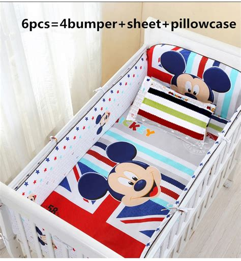nursery bedding and curtain sets promotion 6pcs baby bedding set curtain crib bumper baby cot sets baby bed bumper