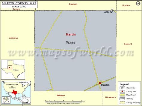 martin county texas map martin county map map of martin county texas