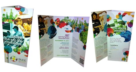 A Non Profit Brochure Created From A Youth Program Graphic Design Template Stocklayouts Youth Brochure Template Free