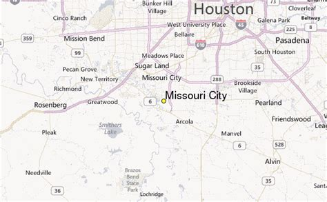 where is missouri city texas on map pin missouri city texas map 4848804 on