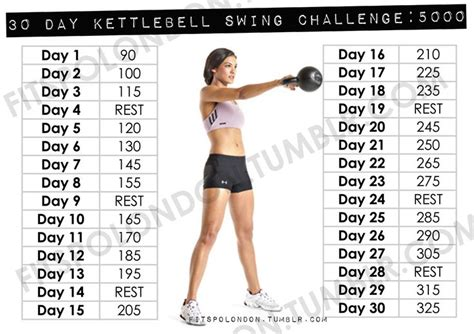 kettlebell swing results 10 best 30 day challenge images on deporte