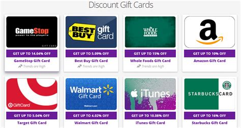 Website That Buys Gift Cards - how to use discount gift cards to save money esavingsblog