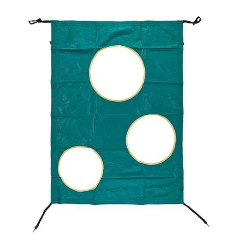 tappeti elastici rettangolari porta da calcio e pallamano per tappeto elastico da giardino