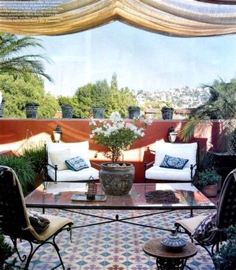 20 Moroccan Style House With Outdoor Spaces Home Design Moroccan Outdoor Furniture