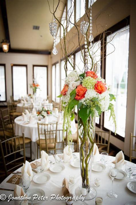 wedding centerpieces with hydrangeas roses