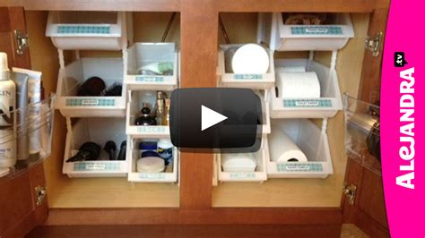 alejandra organization video bathroom organization