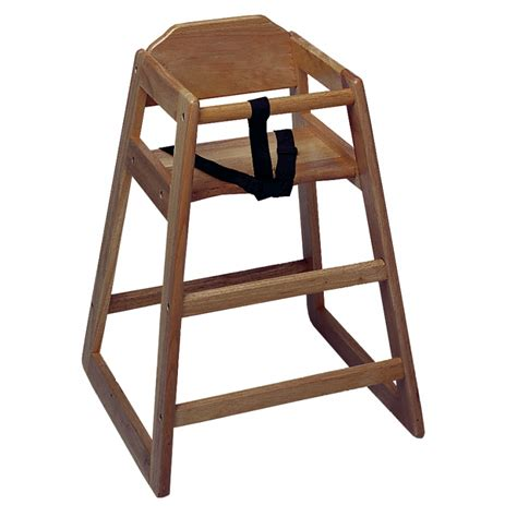 High Chair Walnut Medium Wood Finish Each