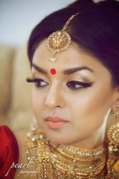 hair and makeup kitchener bridal indian bride wedding lengha brides pinterest