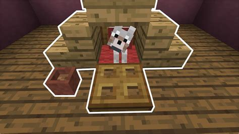 how to make dog house in minecraft how to build a mini dog house minecraft youtube