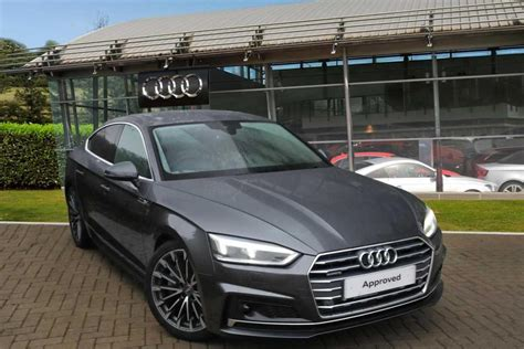 audi a5 sline used 2017 audi a5 2 0 tfsi quattro s line 5dr s tronic for