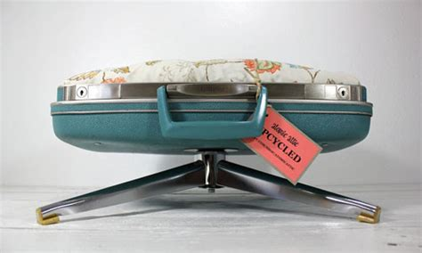 suitcase dog bed upcycled dog bed made from vintage suitcases neatorama