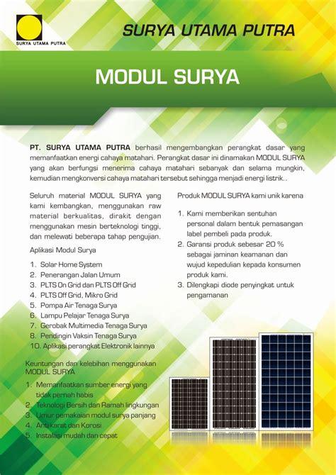 Kalkulator Office 10 Digit Energi Tenaga Solar Surya modul surya pt surya utama putra