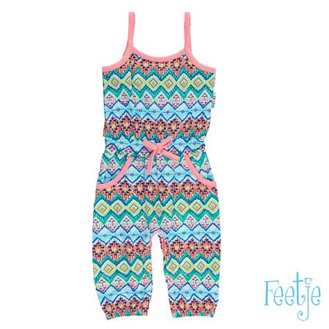 Stelan Baby Multi Portugal Home jumpsuit aop tropic 520 00007 feetje
