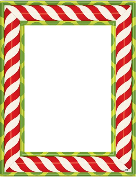 printable christmas paper frames christmas candy frames for designing and scrapping