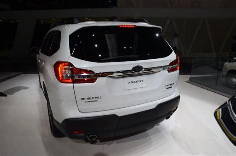2020 Subaru Ascent Rumors by 2019 Subaru Ascent Price Mpg Specs Msrp Review Rumors
