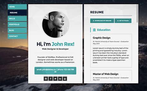 resume website exles berathen
