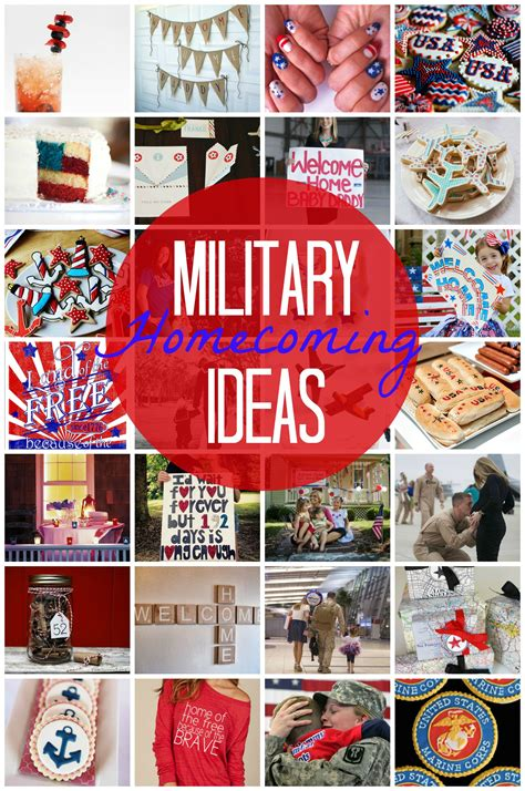military homecoming ideas  ordinary love military