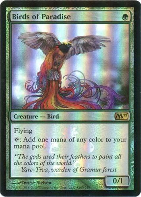 birds of paradise buy a box promo promo cards