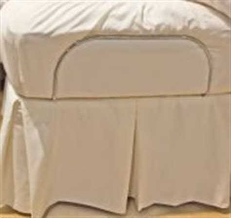 bedskirt for adjustable bed 301 moved permanently