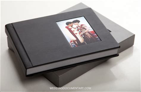 album cover coffee table book premium leather wedding album from wedding documentary