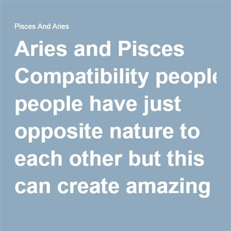 aries and pisces compatibility 1000 ideas about aries and pisces on pinterest aries