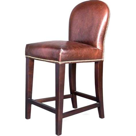 belmont leather bar stool overstock shopping great